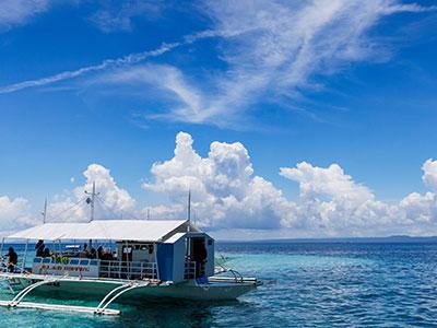【関空発】フィリピン航空直行便で行くセブ島 送迎・朝食付き【春~夏の盛りだくさん】