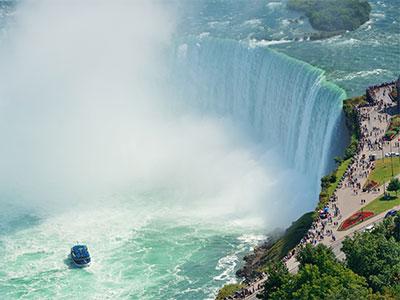 【関空発】エア・カナダバンクーバー線利用ナイアガラ・ニューヨーク6・7日【観光付き】