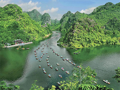 【関空発】ベトナム航空で行くハノイ&ホイアン5・6日【春~夏の満喫!】