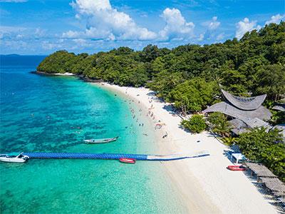 【関空発】タイ国際航空(関空~バンコク間)みんなでわいわいプーケット島4・5・6日【夏のたび】