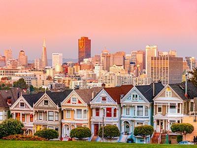 【羽田発】日本航空往復直行便で行く!サンフランシスコ5・6・7日【ネットバーゲン】