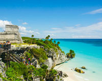 【成田発】カンクン6・7・8日 カリブ海のリゾートに滞在 送迎付き【素敵なリゾートの休日】