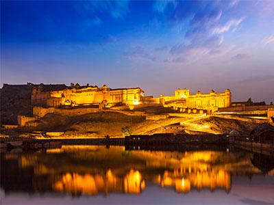 【羽田発】日本航空利用 湖上に浮かぶ宮殿ホテルに泊まる!インド6日【体験インド】