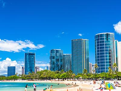 【羽田発】日本航空往復直行便利用ホノルル4・5・6・7日【ヒルトン・ハワイアン・ビレッジに泊まる!ハワイ】