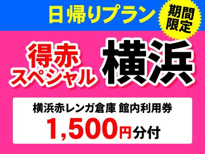 【期間限定!】限定のぞみ号で行く!日帰りプラン横浜スペシャル★★