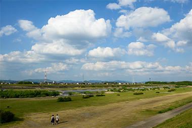 撮影地:愛知県一宮市 国営木曽三川公園