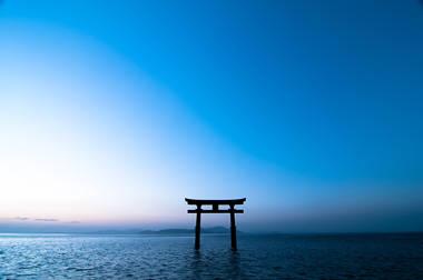 (撮影地:滋賀県 白鬚神社)