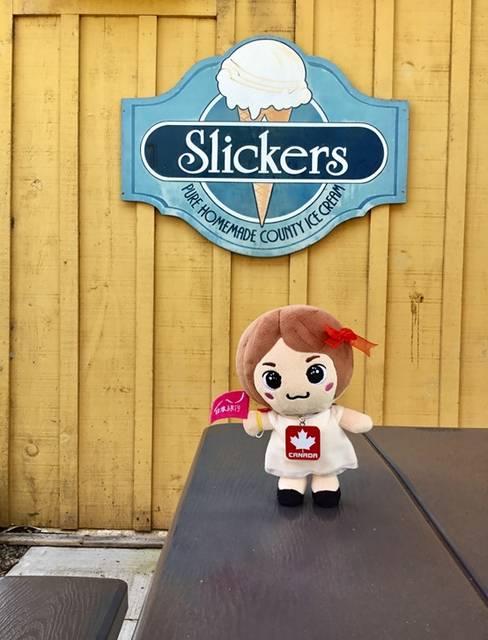 アイスクリーム店スリッカーズ