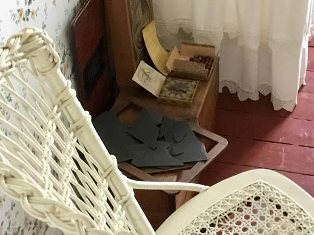 アンの部屋の石盤
