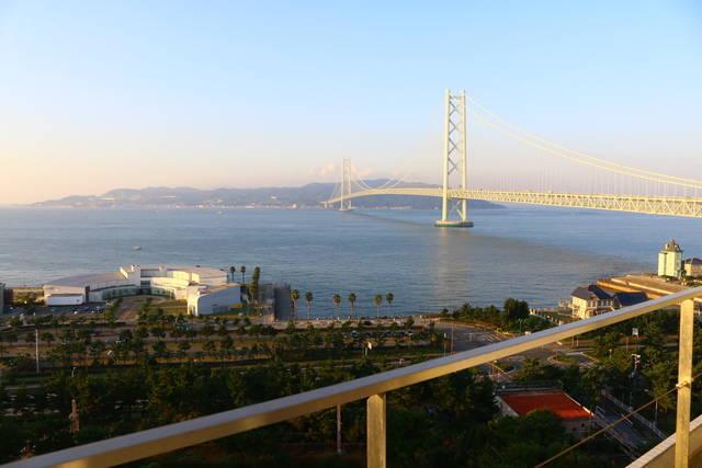 シーサイドホテル舞子ビラ神戸からの部屋からの景色