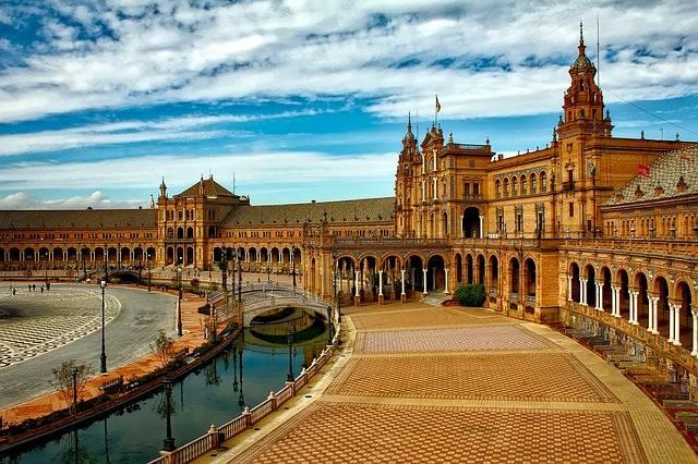 Plaza De España Sevilla · Foto gratis en Pixabay (49106)