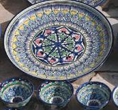 カラフルな陶器