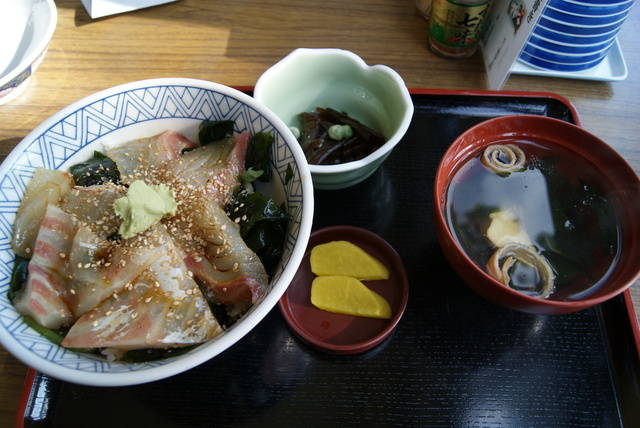 鯛の漬け丼