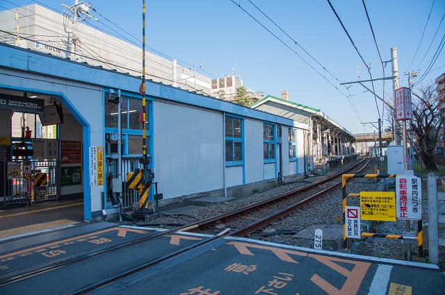 東急大井町線等々力駅