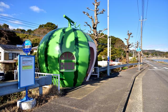 阿弥陀崎バス停