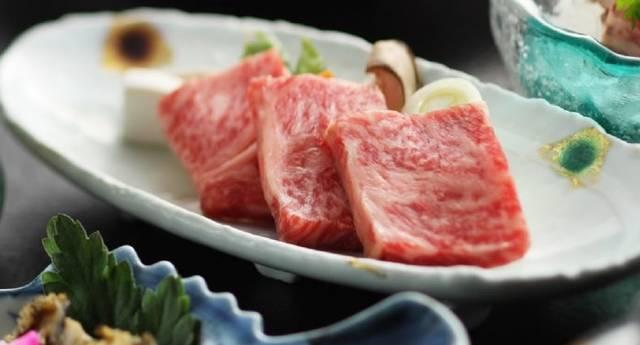 村上牛(夕食一例)