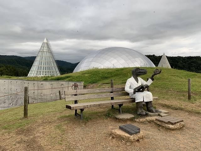 卵型の博物館