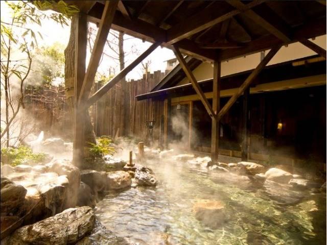 露天風呂「篝火の湯」