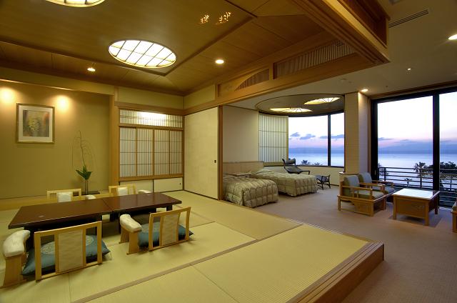 客室一例 離宮 和洋室