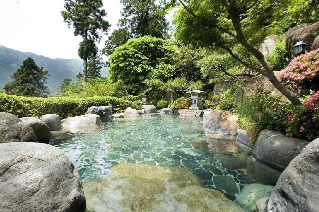 露天風呂「山渓之湯」