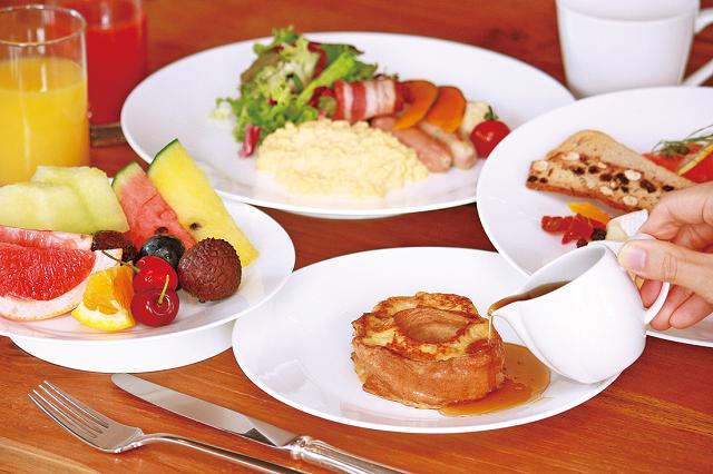 朝食イメージ(くるま麩)