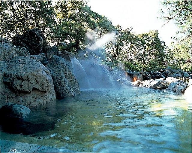露天風呂 瀧の湯