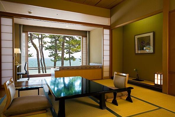 湯賓館 和洋室露天風呂付イメージ