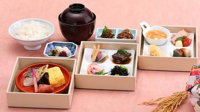 「日本料理 宝ヶ池」の朝食