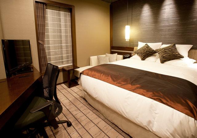 客室一例(最上階グランヴィアフロア モデレートダブル)