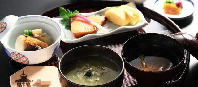 茶がゆ定食(イメージ)