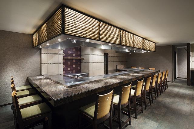 鉄板焼きレストラン(イメージ)