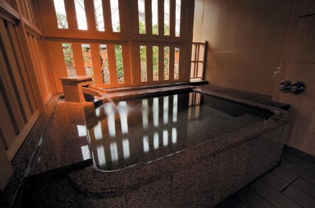 客室一例 露天風呂付き客室