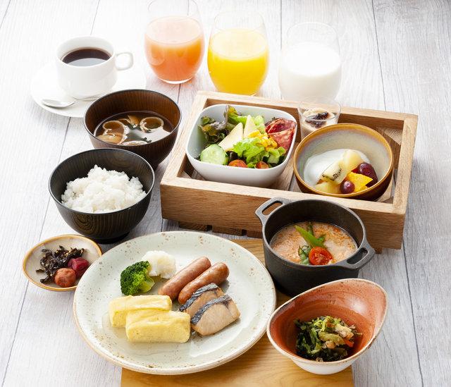 朝食セットメニュー(和食)