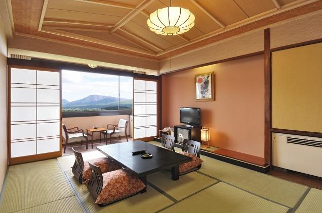 客室一例(阿蘇五岳側和室)