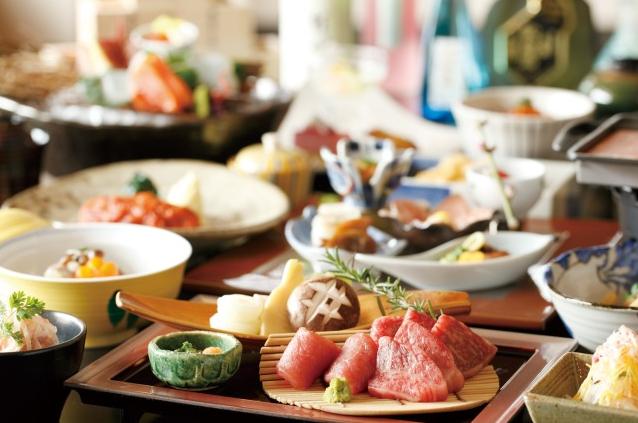 夕食イメージ(メインがお肉の場合の一例)