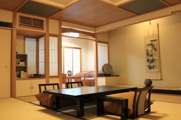 客室一例(露天風呂付和室)