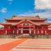沖縄の青空に鮮やかな朱色がまぶしい!世界遺産「首里城」