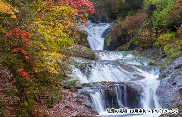 信州屈指の紅葉名所「横谷渓谷」と絵になる風景「御射鹿池」 3日間