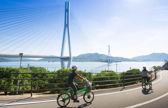 e-BIKEでしまなみ海道をサイクリング 2日間