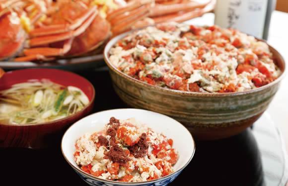 50日間しか食べられない セイコガニの「開高丼」と越前海鮮ショッピングツアー 日帰り