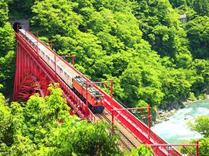 立山黒部アルペンルートと黒部峡谷トロッコ列車 2日間