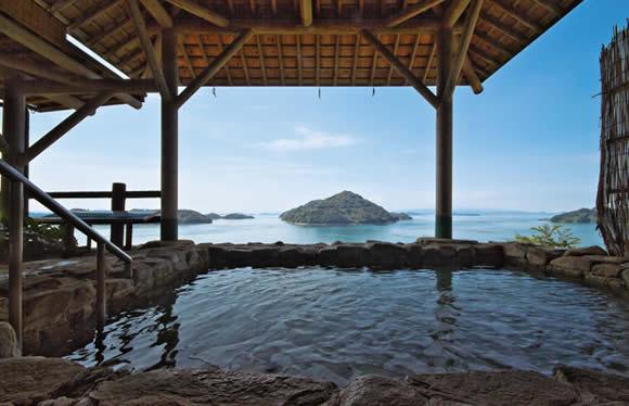 船でしか行けない絶景温泉宿でゆっくり とびしま海道・しまなみ海道でめぐる瀬戸内の島々 2日間