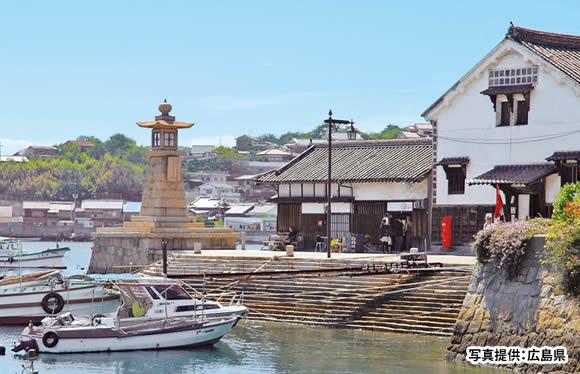 潮待ちの港「鞆の浦」と仙人が酔う程に美しい島「仙酔島」ガイドウォーク 日帰り