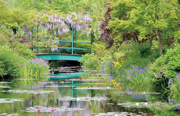 世界にふたつしかないといわれる「モネの庭」と奇跡の清流 仁淀ブルー 2日間