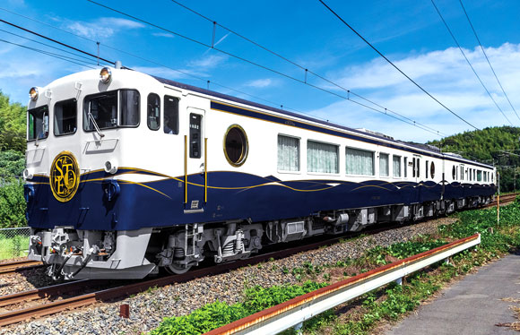 観光列車「etSETOra」としまたびクルーズ 瀬戸内の魅力を乗せる 2日間