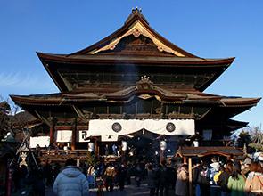 幸福を求めて北向観音と両参り 日本最古といわれる御仏を祀る国宝「善光寺」初詣 2日間