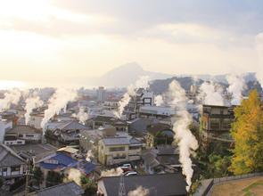 源泉数・湧出量共に日本一の温泉地別府 湯けむり立つ鉄輪温泉に泊まる癒やしの休日 5日間