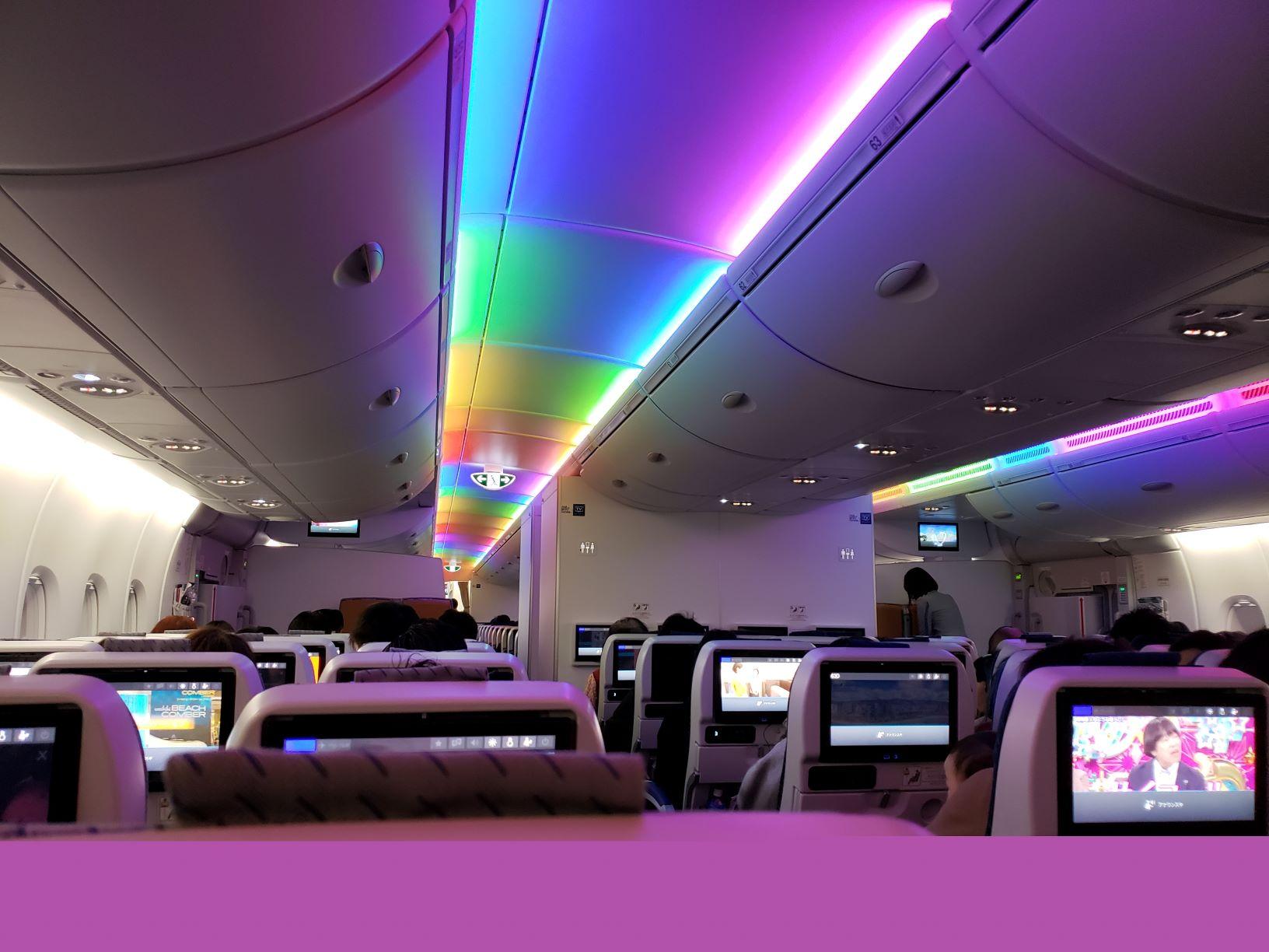 A380機内様子